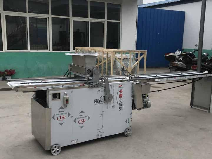cookies making machine exported to Nigeria